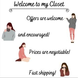 Come Stop By My Closet ❤️